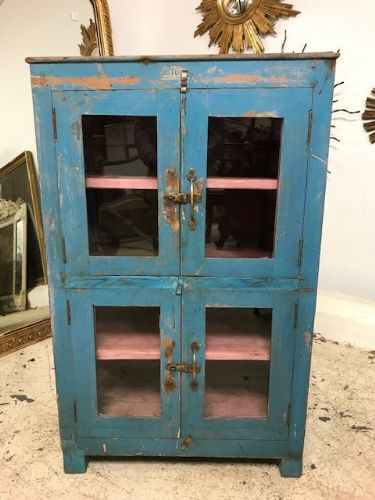 Small Vintage Industrial Cabinet - g151